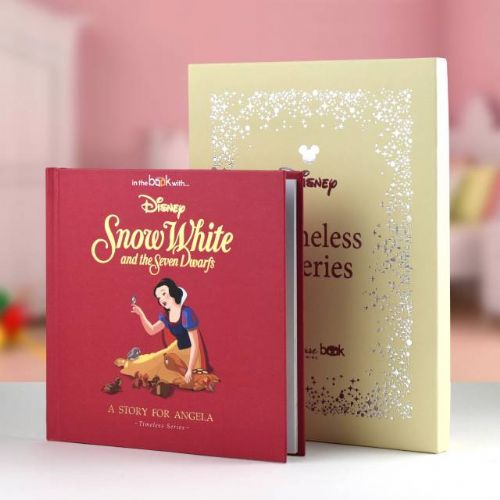 Personlised Disney Snow White Book